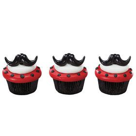 Moustache Bash Rings