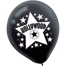 "Movie 12"" Latex Balloons (15 Pack)"