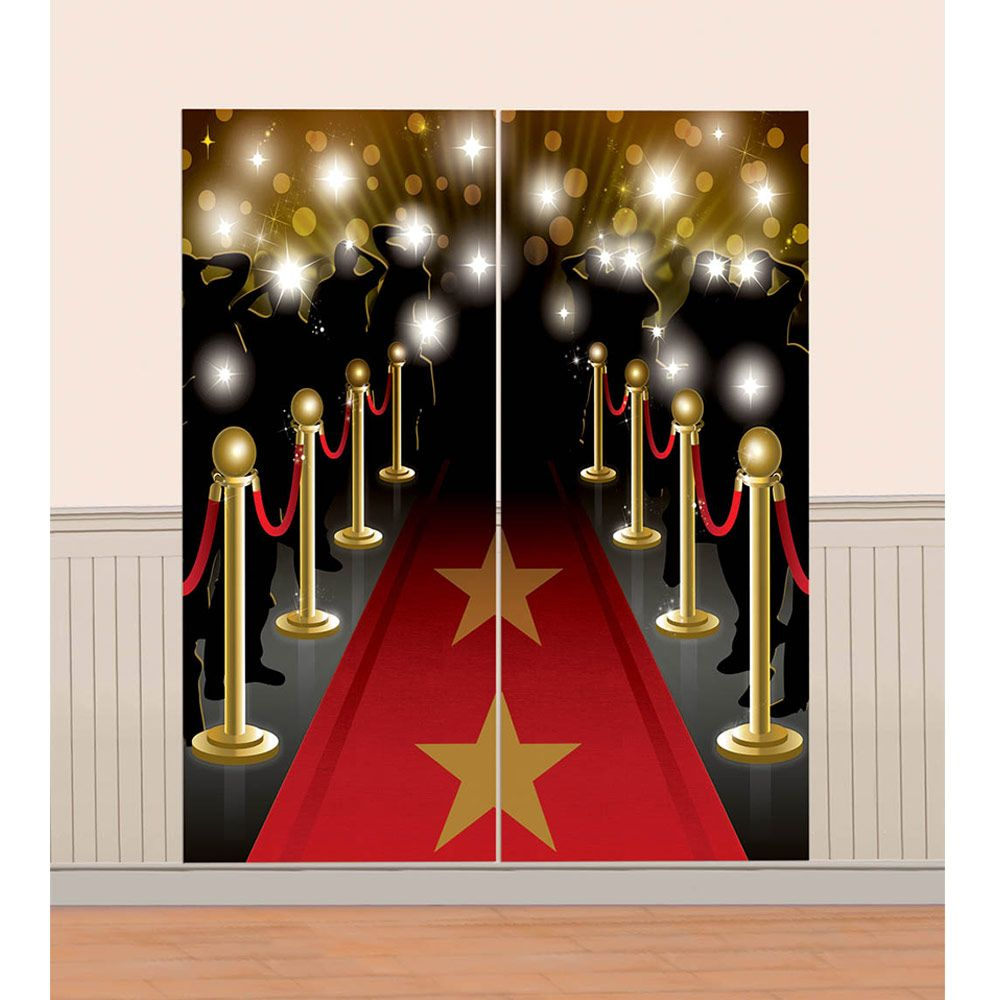 Movie Premier Wall Decorating Kit (Each) BB670143