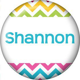 Multi Chevron Personalized Mini Magnet (Each)