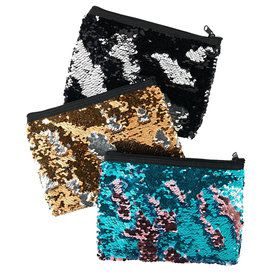 Multi Color Sequin Pouch Kit (3)