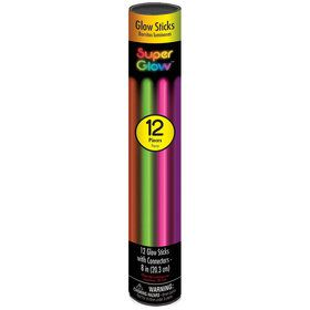 Multicolored Glow Bracelets (12 Count)