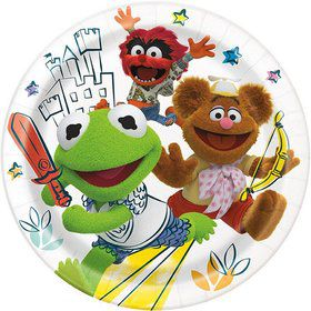 "Muppet Babies 9"" Lunch Plates (8)"
