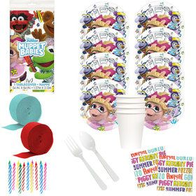 Muppet Babies Deluxe Tableware Kit (Serves 8)