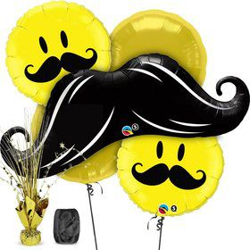 Mustache Balloon Kit (Each)