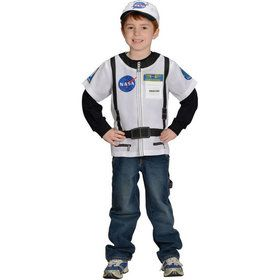 My 1st Career Gear Astronaut Dress-up Shirt Kids Costume