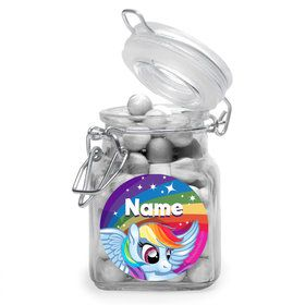 My Little Party Pony Personalized Glass Apothecary Jars (10 Count)