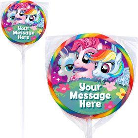My Little Party Pony Personalized Lollipops (12 Pack)