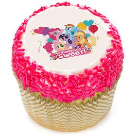 "My Little Pony 2"" Edible Cupcake Topper (12 Images)"