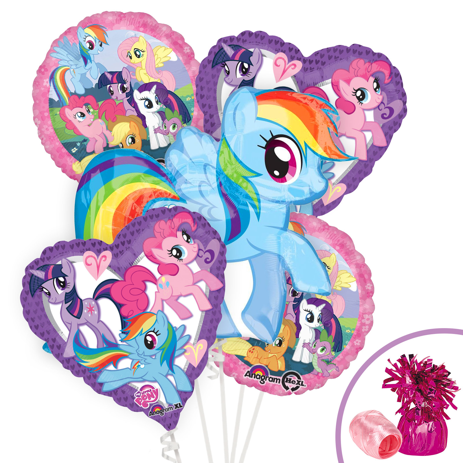 My Little Pony Balloon Kit (Each) - Party Supplies BBBK181