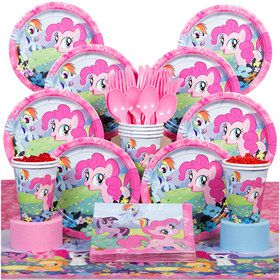 My Little Pony Birthday Party Deluxe Tableware Kit (Serves 8)