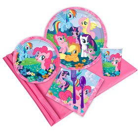 My Little Pony Birthday Party Deluxe Tableware Kit Serves 8