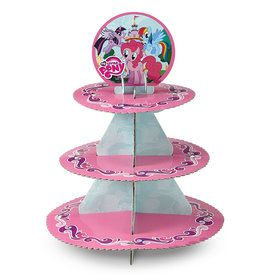 My Little Pony Cupcake and Treat Stand