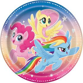 My Little Pony Flying Ponies Dinner Plate (8)