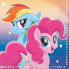 My Little Pony Flying Ponies Lunch Napkin (16 Count)