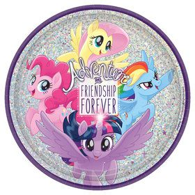 My Little Pony Friendship Adventures 9 Lunch Plate