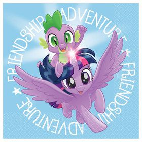 My Little Pony Friendship Adventures Beverage Napkins