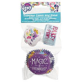 My Little Pony Friendship Adventures Cupcake Wrappers & Picks
