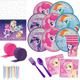 My Little Pony Friendship Adventures Deluxe Tableware Kit (Serves 8)