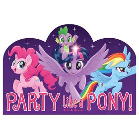 My Little Pony Friendship Adventures Postcard Invite