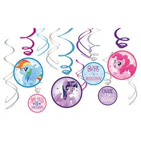 My Little Pony Friendship Adventures Decoration Swirls