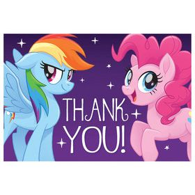 My Little Pony Friendship Adventures Postcard Thank You