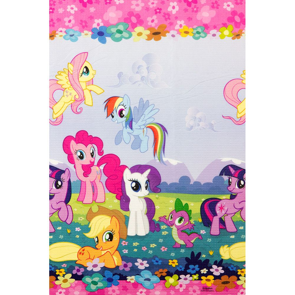 My Little Pony Paper Table Cover (Each) - Party Supplies