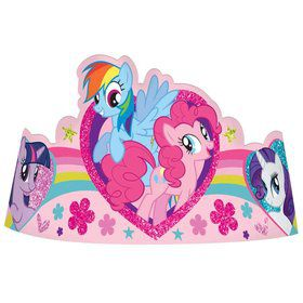 My Little Pony Paper Tiaras (8 Pack)