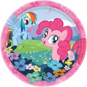 "My Little Pony Plates, 7"" (8 Pack)"