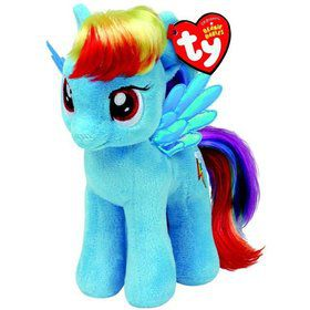 "My Little Pony Rainbow Dash 8"" TY Beanie Baby (Each)"