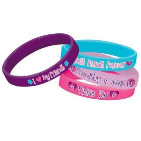 My Little Pony Rubber Bracelet Favors (4 Pack)