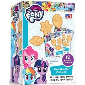 My Little Pony Shaped Shortbread Cookies (12 Count)