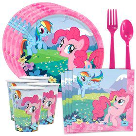 My Little Pony Standard Birthday Party Tableware Kit (Serves 8)