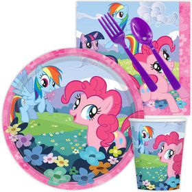 My Little Pony Standard Birthday Party Tableware Kit Serves 8