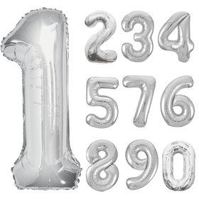 Mylar Number Balloons (each)