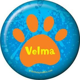 Mystery Dog Personalized Button (each)