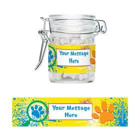 Mystery Dog Personalized Glass Apothecary Jars (10 Count)