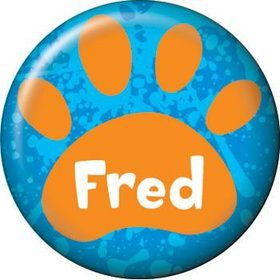 Mystery Dog Personalized Mini Button (each)