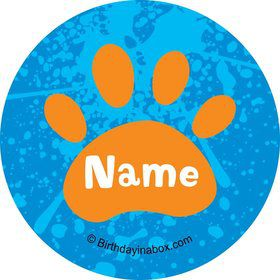Mystery Dog Personalized Mini Stickers (Sheet of 20)