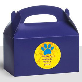 Mystery Dog Personalized Treat Favor Boxes (12 Count)