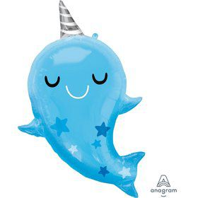 "Narwhal Baby 31"" Foil Balloon"