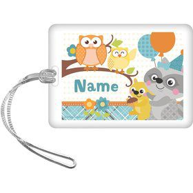 Nature Blue Personalized Bag Tag (Each)