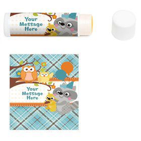Nature Blue Personalized Lip Balm (12 Pack)