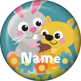 Nature Blue Personalized Mini Magnet (Each)