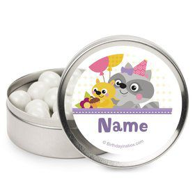 Nature Pink Personalized Mint Tins (12 Pack)