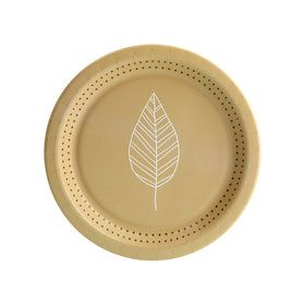Nature's Path Leaf Dessert Plate (8)