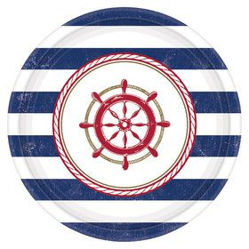 "Nautical 7"" Cake Plate (8 Count)"