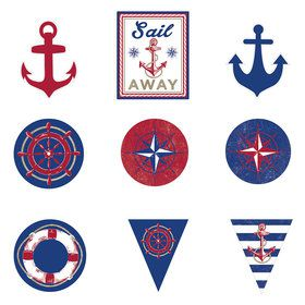 Nautical Cutouts (12 Pieces)