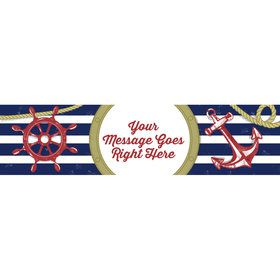 Nautical Personalized Banner (Each)