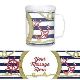 Nautical Personalized Favor Mug (Each)